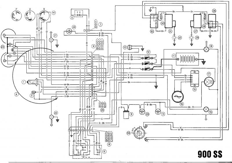 wiring diagram for 860 gt ducati ducati 450 scrambler